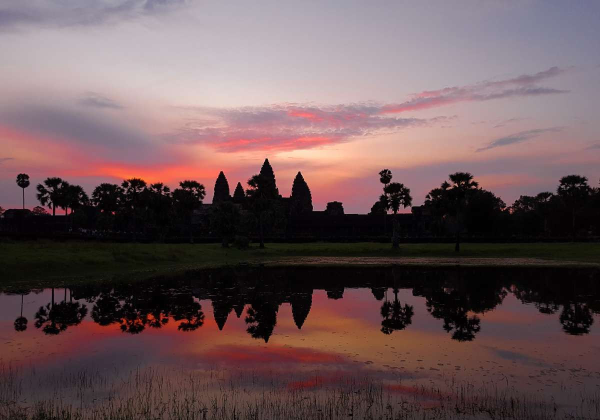 Best Best Ancient Temples for Birding In Cambodia : Angkor Wat