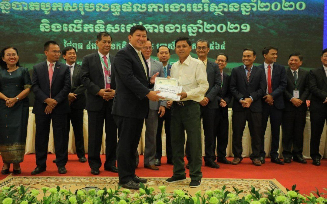 Tmat Boey Community wins Ministry of Environment Award