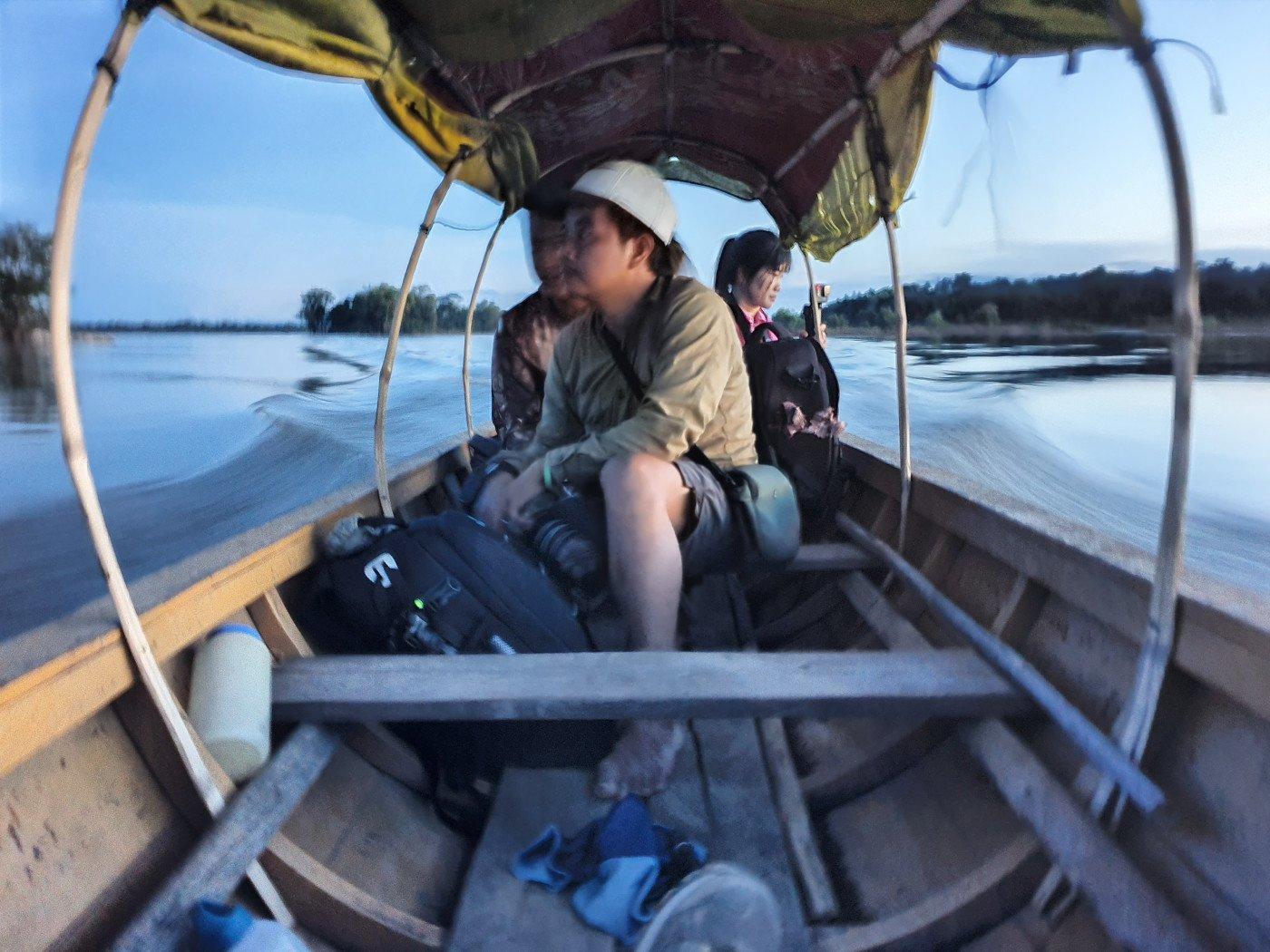 Boat to Koh Samseb