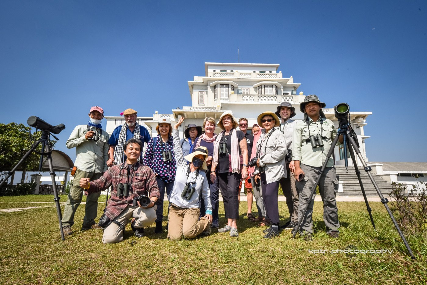 Bird Tour Bokor National Park with SVC - Fredys Sjafredy